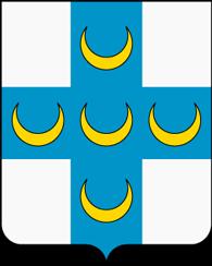 Грб на австрискиот генерал Енеа Силвио Пиколомини