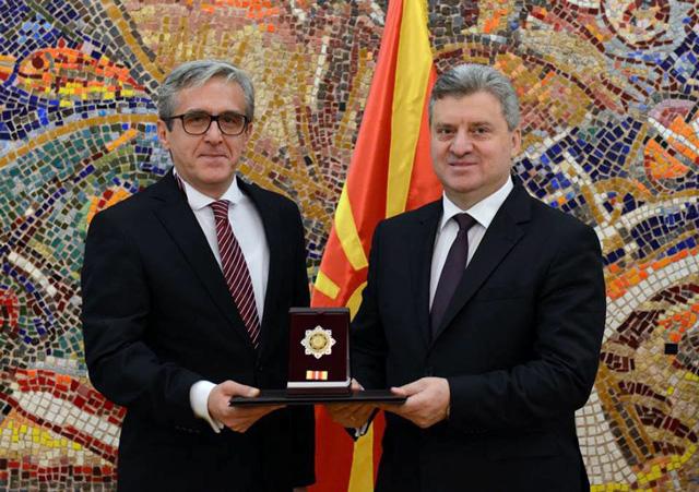 Драмски театар Скопје одликуван со Орден за заслуги за Македонија