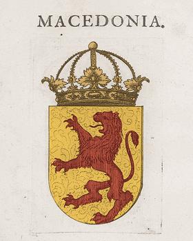 Грб на Македонија од Стематографијата на Витезовиќ